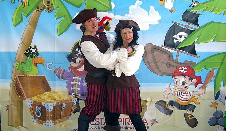 Festa a Tema Caccia al tesoro e Pirati per Bambini a Firenze, Siena e Arezzo