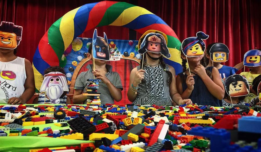 Festa a tema per bambini con Lego e mattoncini a siena, Firenze e Arezzo