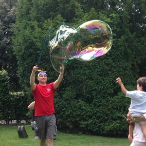 Giochi con bolle di sapone