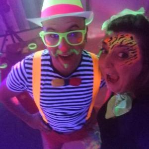 disco dance colori fluorescenti bambini arezzo siena