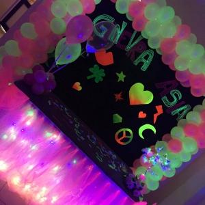 festa bambini colori fluorescenti arezzo siena firenze