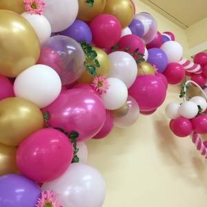 allestimento con palloncini per feste compleanno