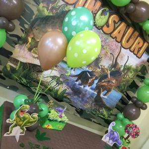 Allestimento Dinosauri festa a Tema