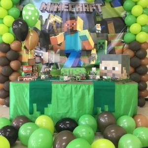 Allestimento tema Minecraft