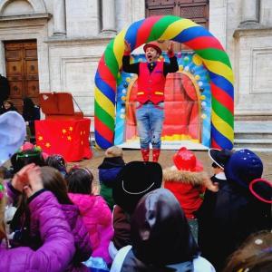 spettacolo magia bambini feste di piazza arezzo siena firenze